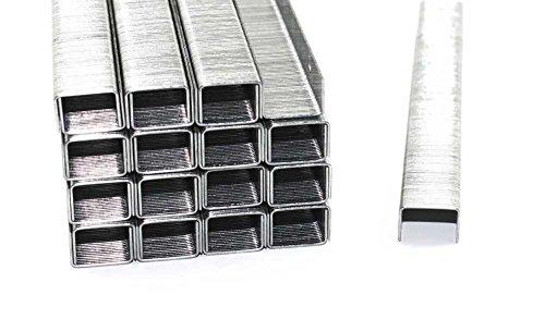 5000 Tackerklammern - Typ 53 - Länge: 10 mm, Breite: 11,4 mm - Maße 10/11,4 - verzinkt/Heftklammern/Tacker-Klammern