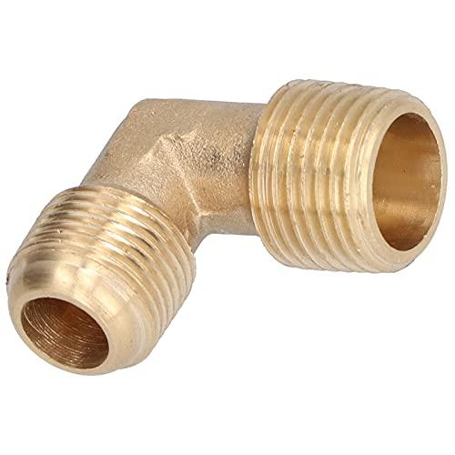 Acopladores y accesorios de aire, accesorios de compresor de aire de tubería macho de 90 grados Adaptador de manguera de 90 grados para accesorios de compresor de aire para accesorios de