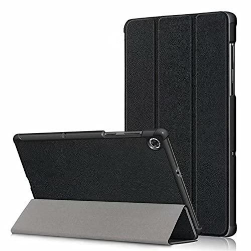 Kdely Funda para Lenovo Tab M10 FHD Plus 2nd Gen 10.3'', Cover Protector Ultra Slim Smart Cascara con Auto Reposo/Activación Función Compatible con Lenovo Tab M10 FHD Plus 2nd Gen 10.3''Tableta-Negro