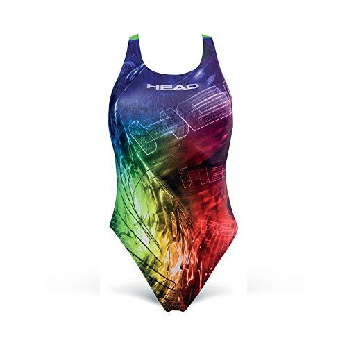 clasificación y comparación Head reel traje de baño olímpico, mujeres, multicolor, 40 para casa