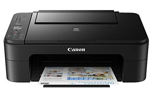 Canon PIXMA E3370 All-in-One Wireless Ink Efficient Color Printer...