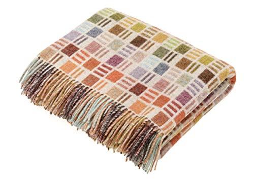 Storklings Wool Blanket Throw in a Multi...