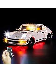 Yovso Verlichting set voor Lego 10295 Porsche 911 Turb, led-verlichtingsset licht compatibel met Lego 10295 (alleen LED-verlichting, geen LEGO)
