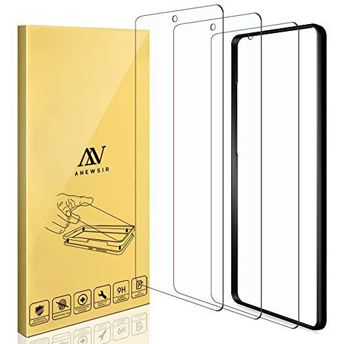 ANEWSIR 3 Piezas Protector de Pantalla para Samsung Galaxy a71/a71 5G/A Quantum,Cristal Templado de Resistente a Arañazos 9H Dureza Cristal Vidrio Templado Protector para Samsung Galaxy A71