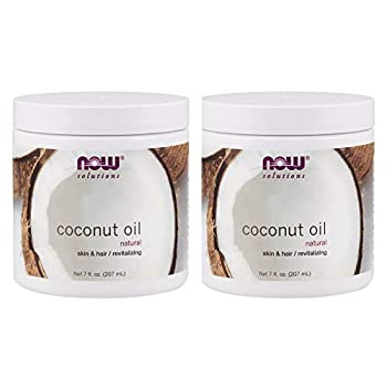 Now Foods Pure Coconut Oil 7 oz  Pack of 2