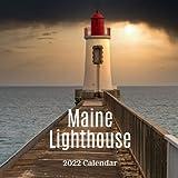 Maine Lighthouse 2022 Calendar: 2022-2023 Calendar, Office Calendar, 18 Months.