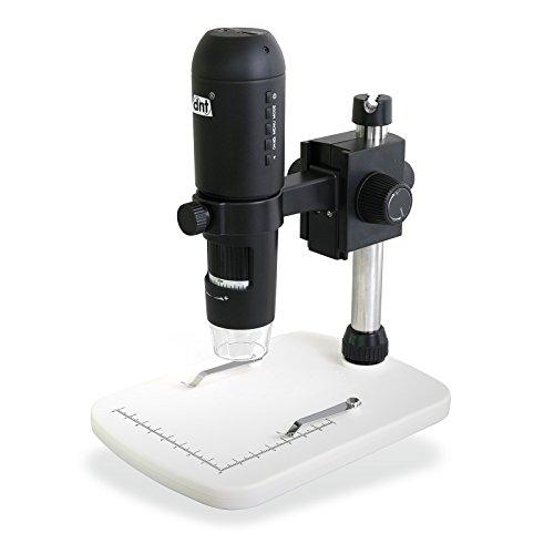 dnt DigiMicro Profi HDMI 3MP USB Microscope mit 230x Zoom schwarz