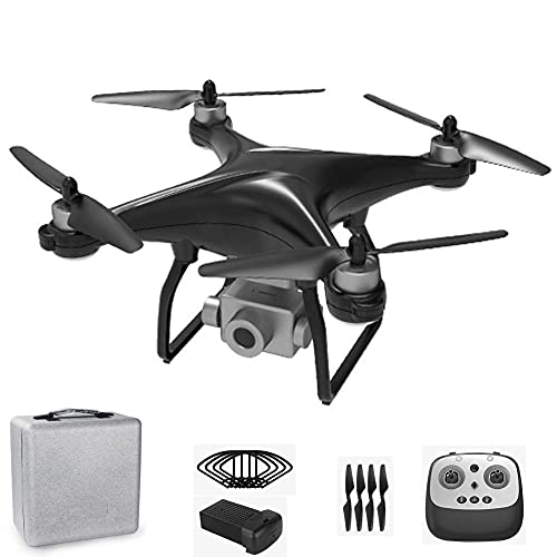 BD.Y Drone,RC Drone 4K Camera with 3-Axis Self Stabilizing Gimbal, RC Quadcopter Auto Return Home with Follow Me Altitude Hold Headless Mode for Beginner Kids