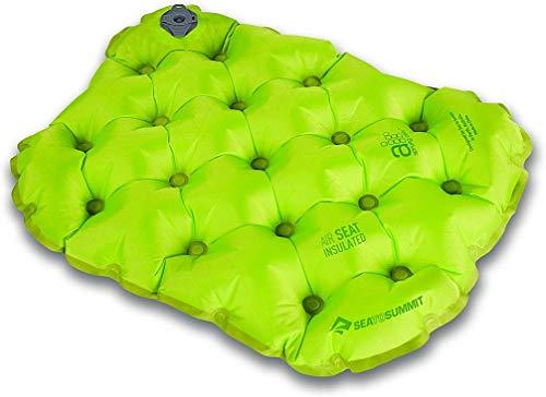 Sea to Summit Air Seat Isolierkissen für Stadion und Sportveranstaltung, aufblasbar, kompakt, Grün