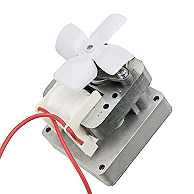 Grisun Grill Auger Motor for Pit Boss, Traeger Wood Pellet Grills, Camp Chef Smoker Grill, Barbecue BBQ Auger Drive Motor Replacement Parts, Traeger Smoker Accessories