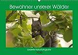 Bewohner unserer Wälder (Wandkalender 2020 DIN A2 quer): Eine kleine Vorstellung unserer Waldbewohner, schützen wir ihre Heimat und sichern wir dadurch die unsere! (Monatskalender, 14 Seiten )