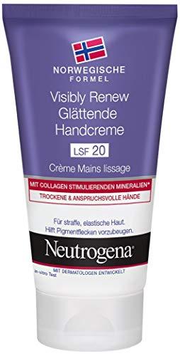Neutrogena Visibly Renew Glättende Handcreme, Mit LSF 20, 75 ml