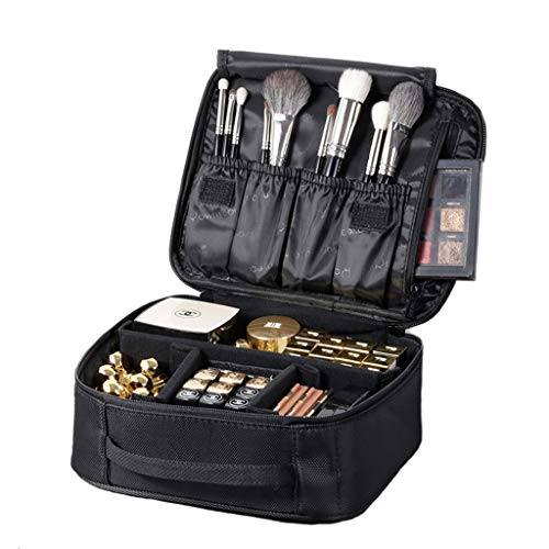 Bolsa de Maquillaje Impermeable Neceser Viaje Plegable Estética Profesional Bien Organizados los Cosméticos Labios para Mujer Hombre Size Diseño2