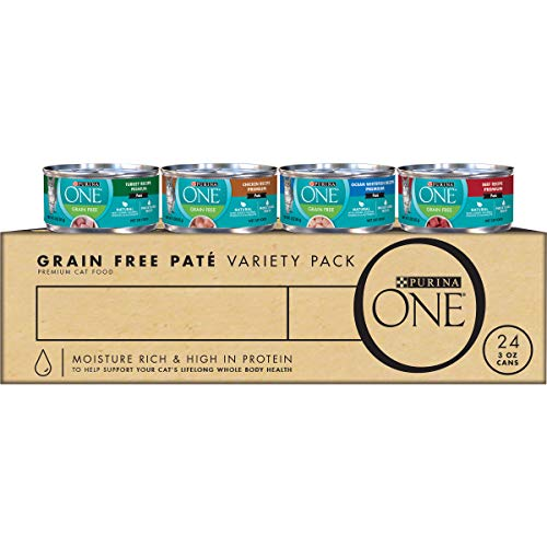 Purina ONE Natural Adult Canned Wet Cat Food -