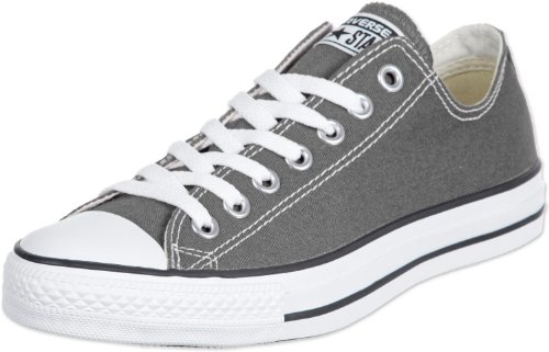 Converse Unisex Chuck Taylor All Star Low Top Sneakers - Charcoal - M US9 / W US11 / EUR42.5