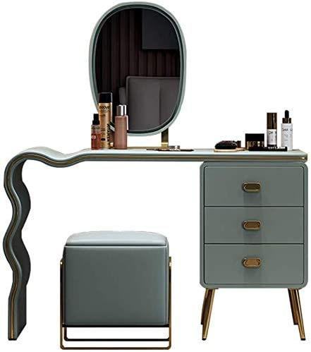 Simple and Stylish Makeup Translated Vanity Modern Set for Bedroom safety Minimal
