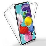 Funda para Xiaomi Redmi Go Silicona,Carcasas[Carcasa Protectora 360 Grados Full Body] Transparente...