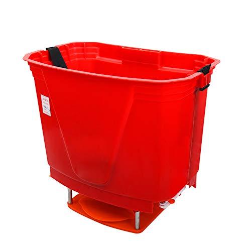 BJYX 20 litros Alimentador de Cebo Eléctrico Esparcidor de Cebo Semilla Seca Granular Alimento para Tierras de Cultivo Arrozales Huertos Criaderos Estanques de Peces Césped Huertos