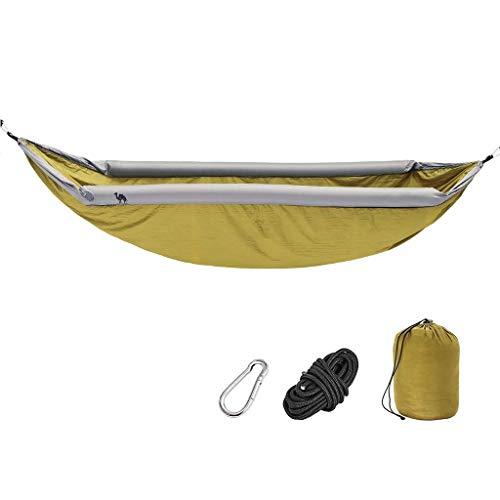Hamacs, Meubles de Camping gonflables Convient pour Plusieurs scénarios Extérieur Portable et Confortable Charge Anti-retournement 200 kg (Couleur: Vert, Taille: 270 * 140 cm) Confortable