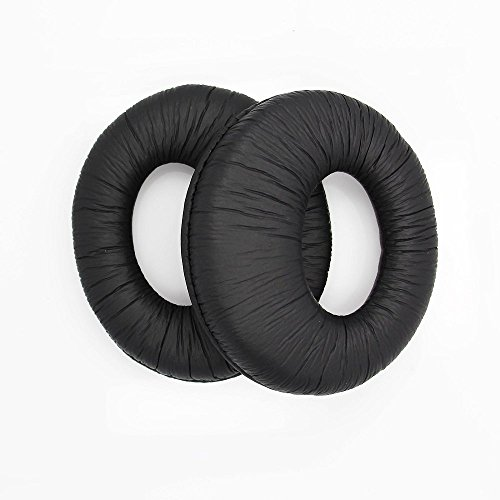 Replacement Foam Earpads Pillow Ear Pads Cushions Cover Cups Repair Parts for Sony MDR-RF985R RF985R RF985RK Headphones (Black)