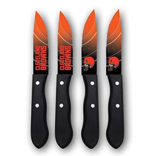 Sports Vault NFL Cleveland Browns Steak Knive Set