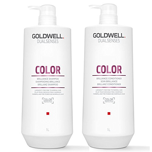 Goldwell Dualsenses Color Brilliance Shampoo 1000 ml und Conditioner 1000 ml