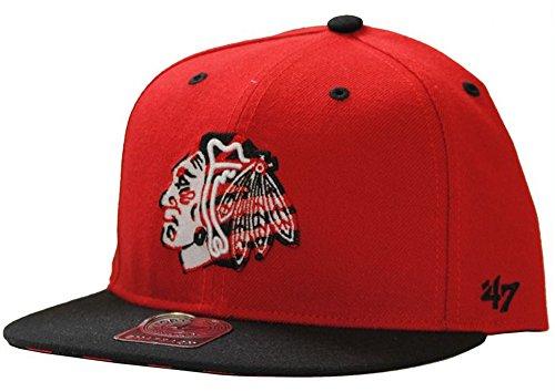 47 Brand casquette snapback casquette pour homme-rouge-ajustable