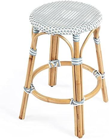 Beaumont Lane Luxury goods Twilight Ranking TOP15 Blue Stool White Counter Rattan