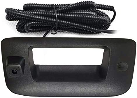 Chevy GMC Back Up Camera with Key Hole Cover Rear View Camera with Tailgate Handle for Chevy product image