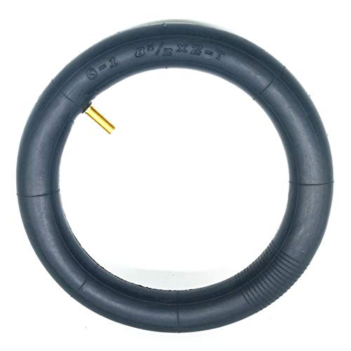 Sankuai Neumático de Goma de Scooter eléctrico Duradero 8 1/2 * 2 Tubo Interior Tubo Frente Trasero Trasero DE LOS NEUMÁTICOS para X-I-I-A-O-M-I M365 Accesorios (tamaño : 1 pcs)