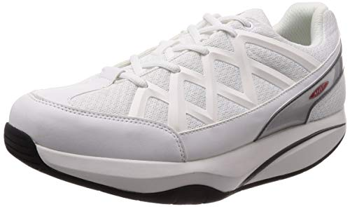 MBT Men's Sport 3 Fashion Sneaker,White,45 EU/11-11.5 M...