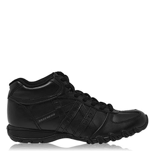 Skechers Mujer Speedster Zapatillas Deportivas Altas Cordón Negro EUR 36