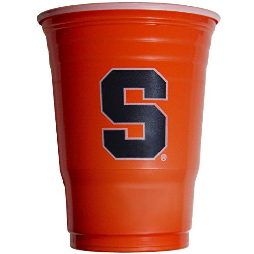 NCAA Siskiyou Sports Fan Shop Syracuse Orange Plastic Game Day Cups 18 count Team Color