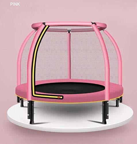 KAIGE Suge 4FT Scoperta Mini Trampolino con Recinzione di Sicurezza Net for i Bambini, Carico Massimo 200Kg WKY