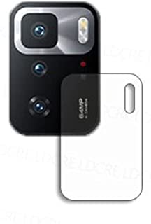 جراب حماية نانو مضاد للصدمات لعدسة كاميرا موبايل شاومي بوكو X3 GT - شفاف