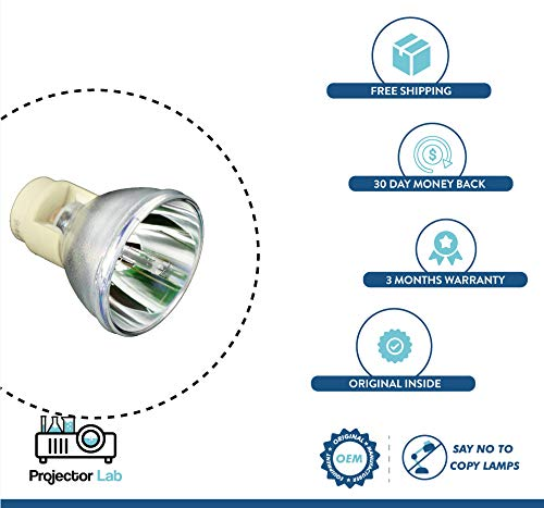 Original Bulb Lamp (Senza custodia) per SANYO PLC-XP18 Z1514 con 3 mesi di garanzia