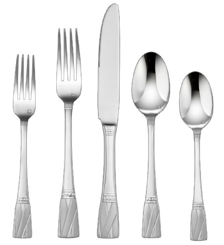 Cuisinart CFE-01-R20 20-Piece Flatware Set, Rannee