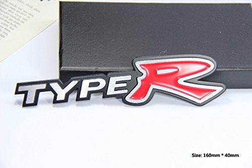 E363 Type R Emblem Zeichen Badge auto Abziehbild aufkleber 3D Schriftzug Plakette Car Sticker