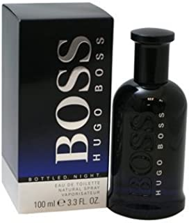 BOSS BOTTLED NIGHT. De Colonia Eau de Toilette Spray 3.3Oz/100ml by Hugo Boss–para hombre