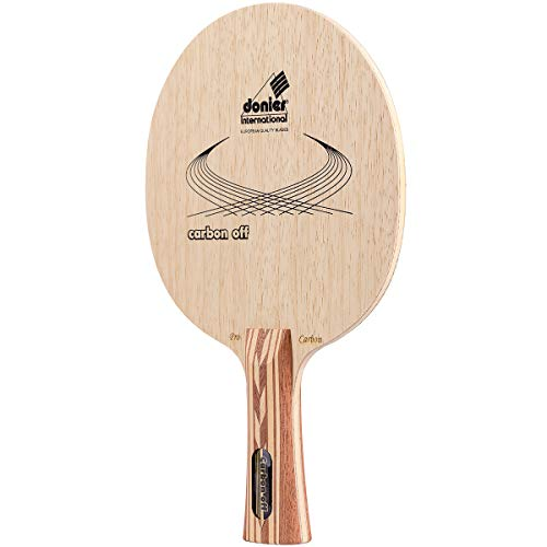 Donier Madera de Ping Pong | Carbon Offensive | Madera para Palas de Tenis de Mesa Fabricada en Europa | Base de 7 Capas para Mayor Velocidad, Control y Ataques Estratégicos | Interior y Exterior
