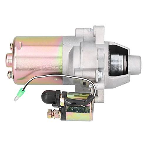 Eulbevoli Motor de Arranque, reemplazo del Motor de Arranque Confiable y cómodo de Usar Resistencia al Desgaste para Motores industriales de Gasolina