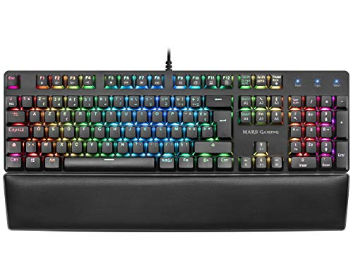 Clavier Gamer mécanique (Outemu Red Switch) Mars Gaming MK5 RGB (Noir)