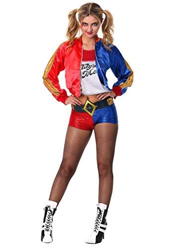 Generique - Harley Quinn Kostüm für Erwachsene - Suicide Squad XS