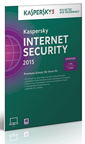 Kaspersky Internet Security 2015 Upgrade - 1 PC [import allemand]