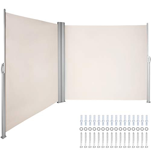 LOVESHARE Retractable Side Awning 236