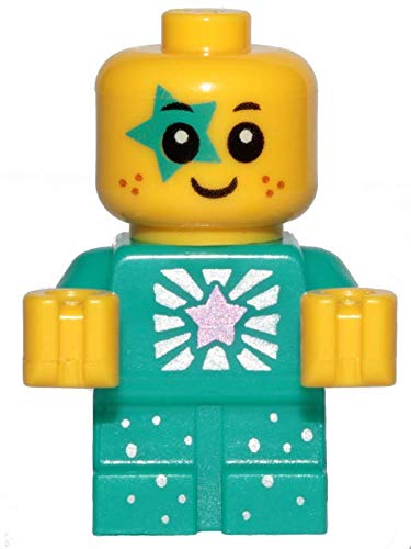 LEGO The Movie 2 : Turquoise Sparkle Baby Minifig (Very Small)