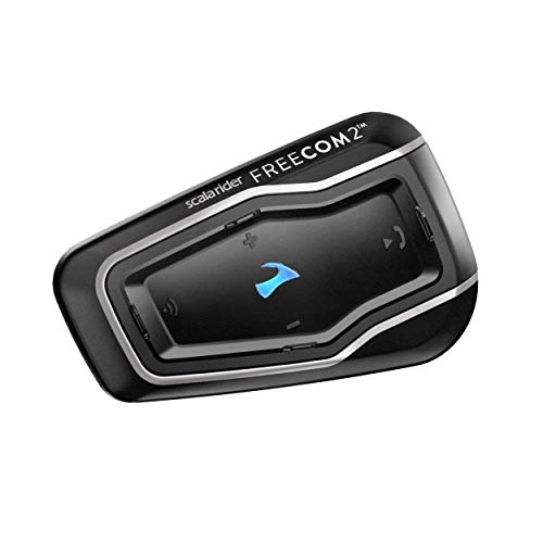 "Cardo FRC41103 Scala FREECOM 4-Bluetooth 4.1 sistema de comunicación para motocicleta con audio HD para Solo Riders ""descontinuado por el fabricante"""
