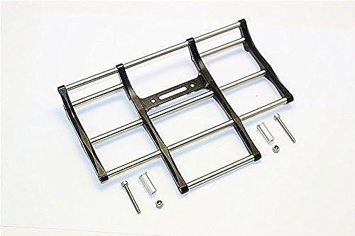ventas en linea Tamiya 1 14 14 14 Truck Upgrade Parts Aluminium+Steel Animal Guard (For Truck Model  56314, 56344, 56319) - 1 Set negro  apresurado a ver
