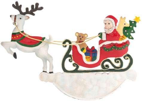 Villeroy & Boch Winter's Tale 2014 Weihnachtsmann SchlittenM 15,5cm