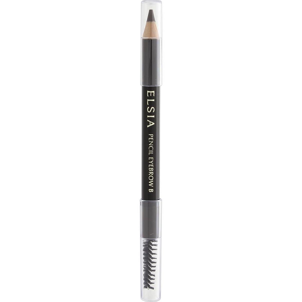 事実どこかいくつかのエルシア プラチナム 鉛筆 アイブロウ (ブラシ付) ブラウン BR300 1.1g